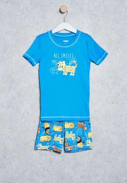 Kids T-Shirt +Pyjama