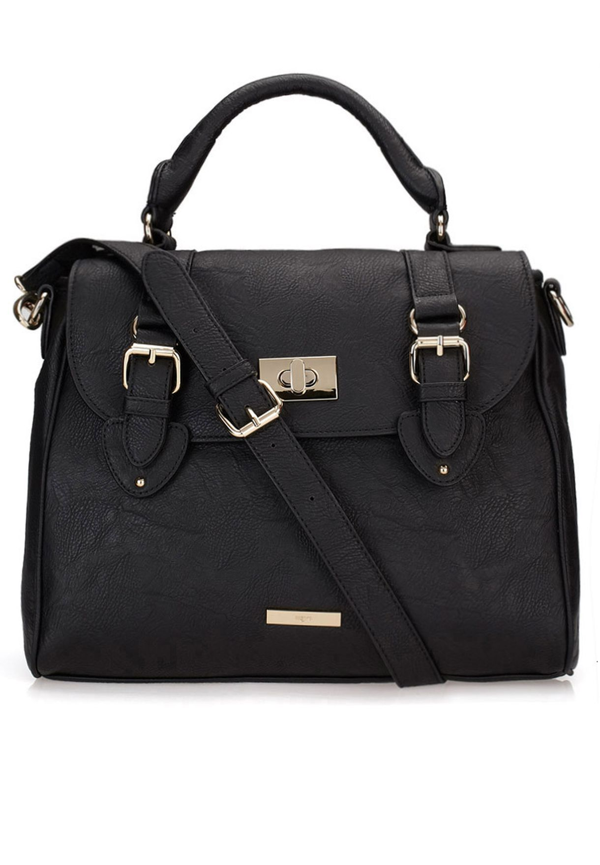 Heys Black Oxford Satchel For Women