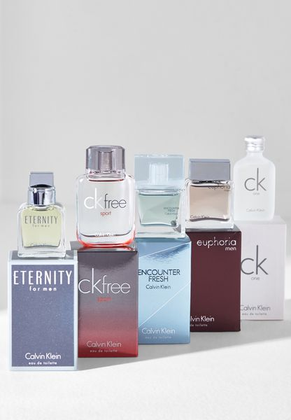 Calvin Klein Miniatures Men 5x10ml EDT