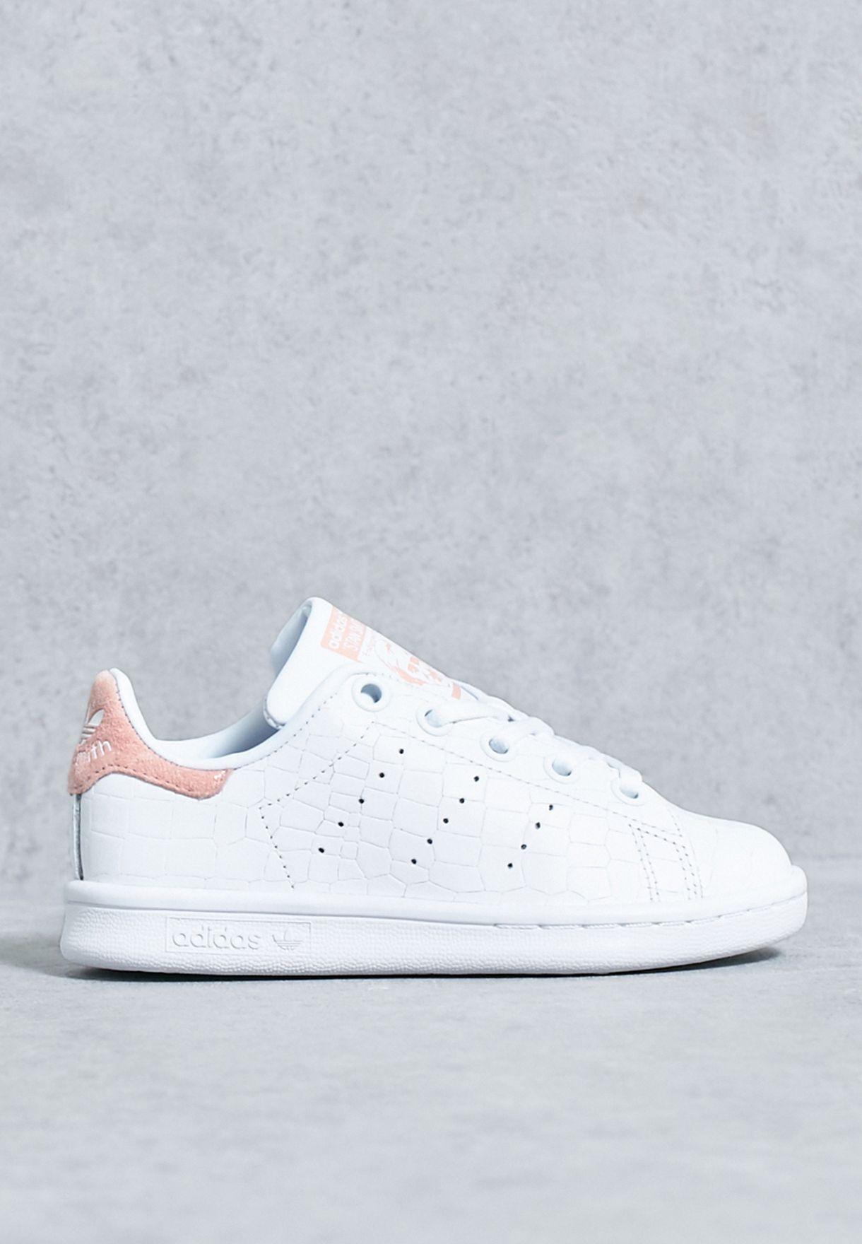 d38d560b8 تسوق حذاء ستان سميث سي ماركة اديداس اورجينال لون أبيض S76985 في قطر ...
