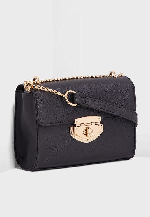 Lock Chain Crossbody