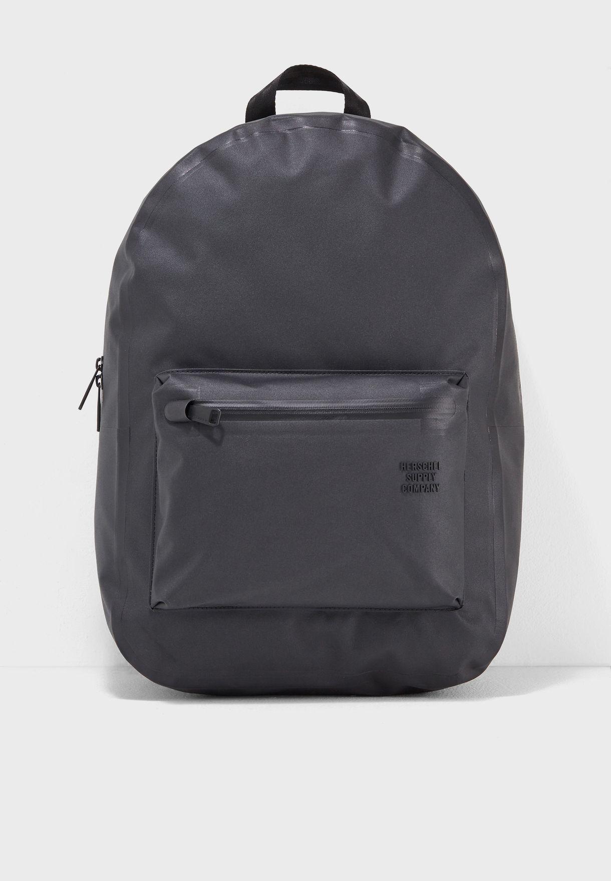 e716b36eae5 Shop Herschel black Settlement Backpack 23L 10005-01811-OS for Men ...