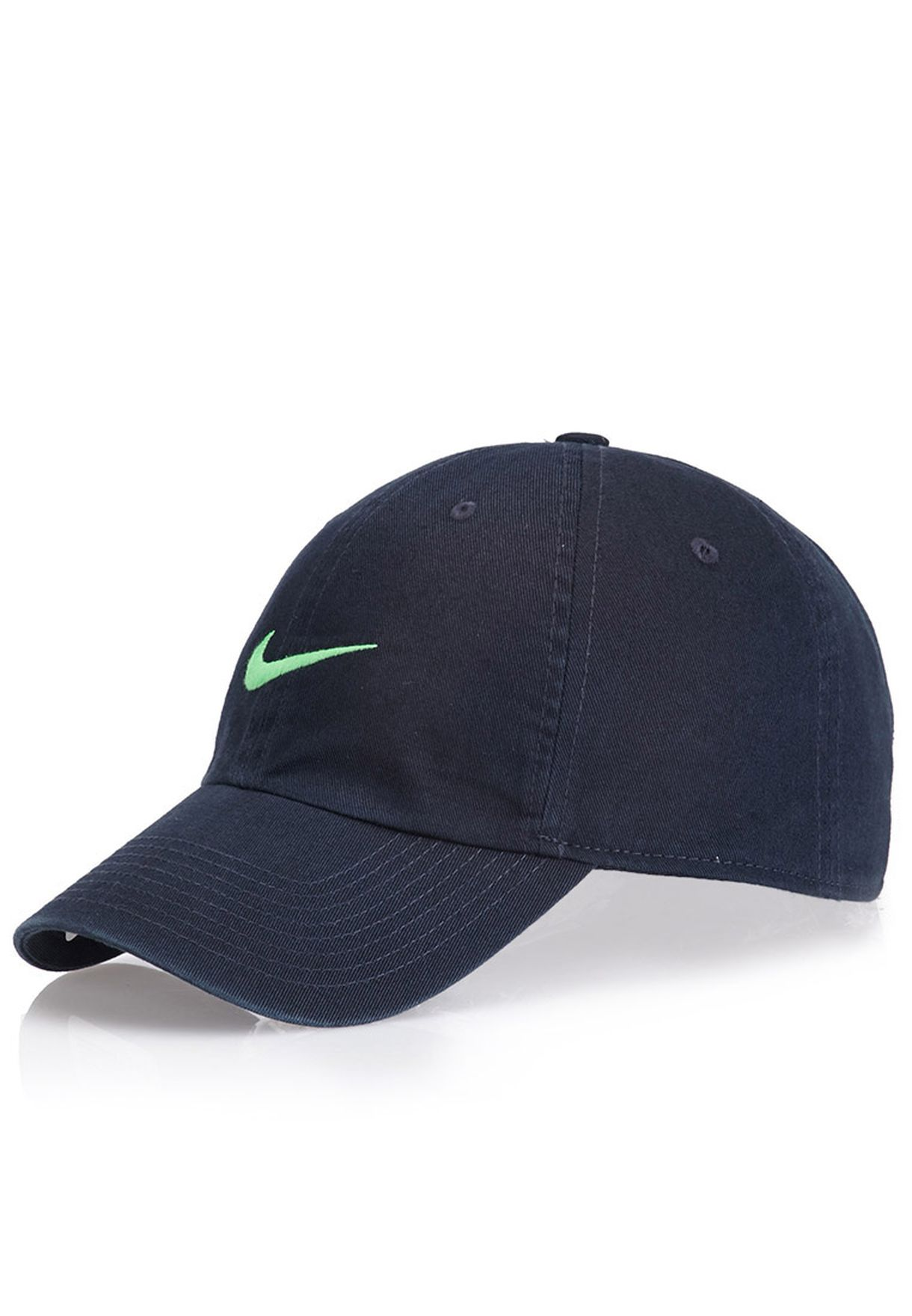 Shop Nike navy Heritage 86 Swoosh Cap for Men in Kuwait - NI727AC07JEY 05297d1feac