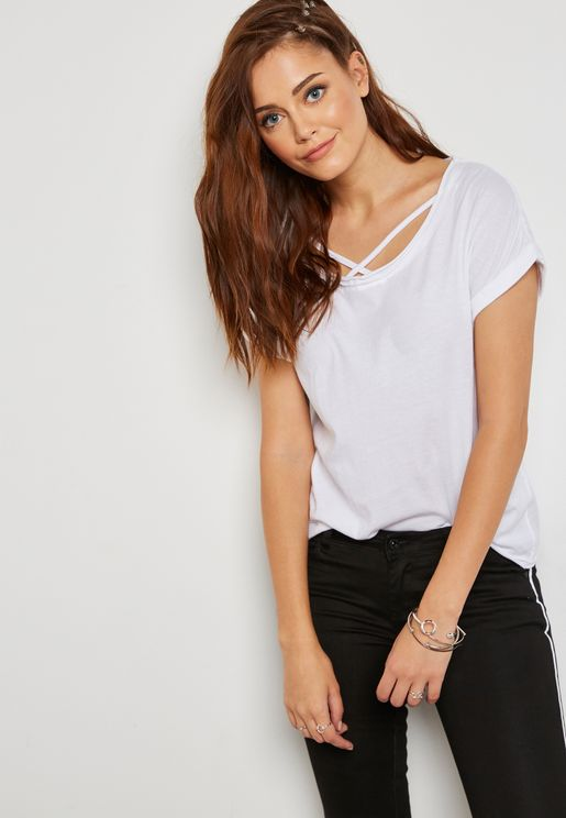 Criss Cross T-Shirt