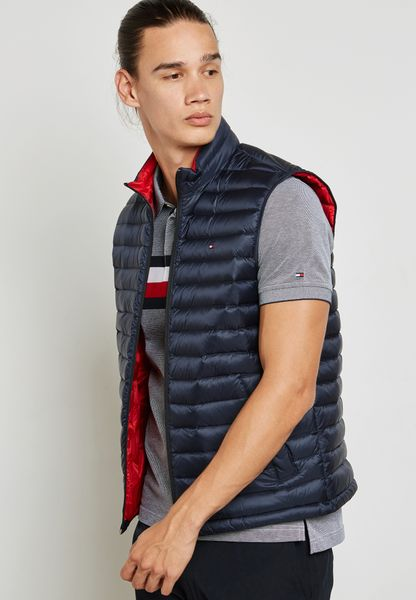 Packable Bomber Gilet