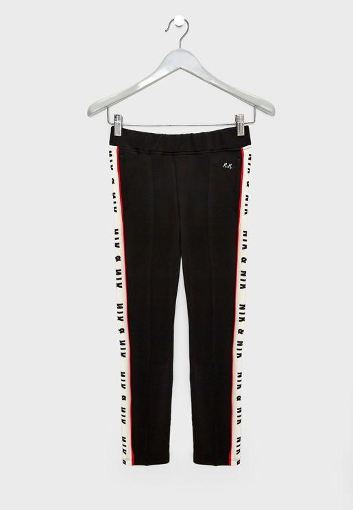 Teen Side Tape Pants