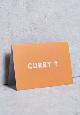 Curry Card
