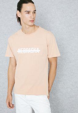 Nebraska Ripped T-Shirt