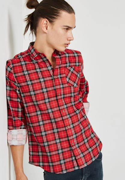 Tycho Checked Shirt
