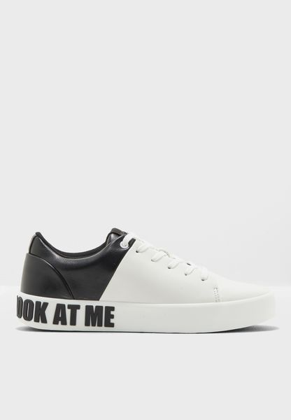 Novelty Lace Up Look At Me Sneaker