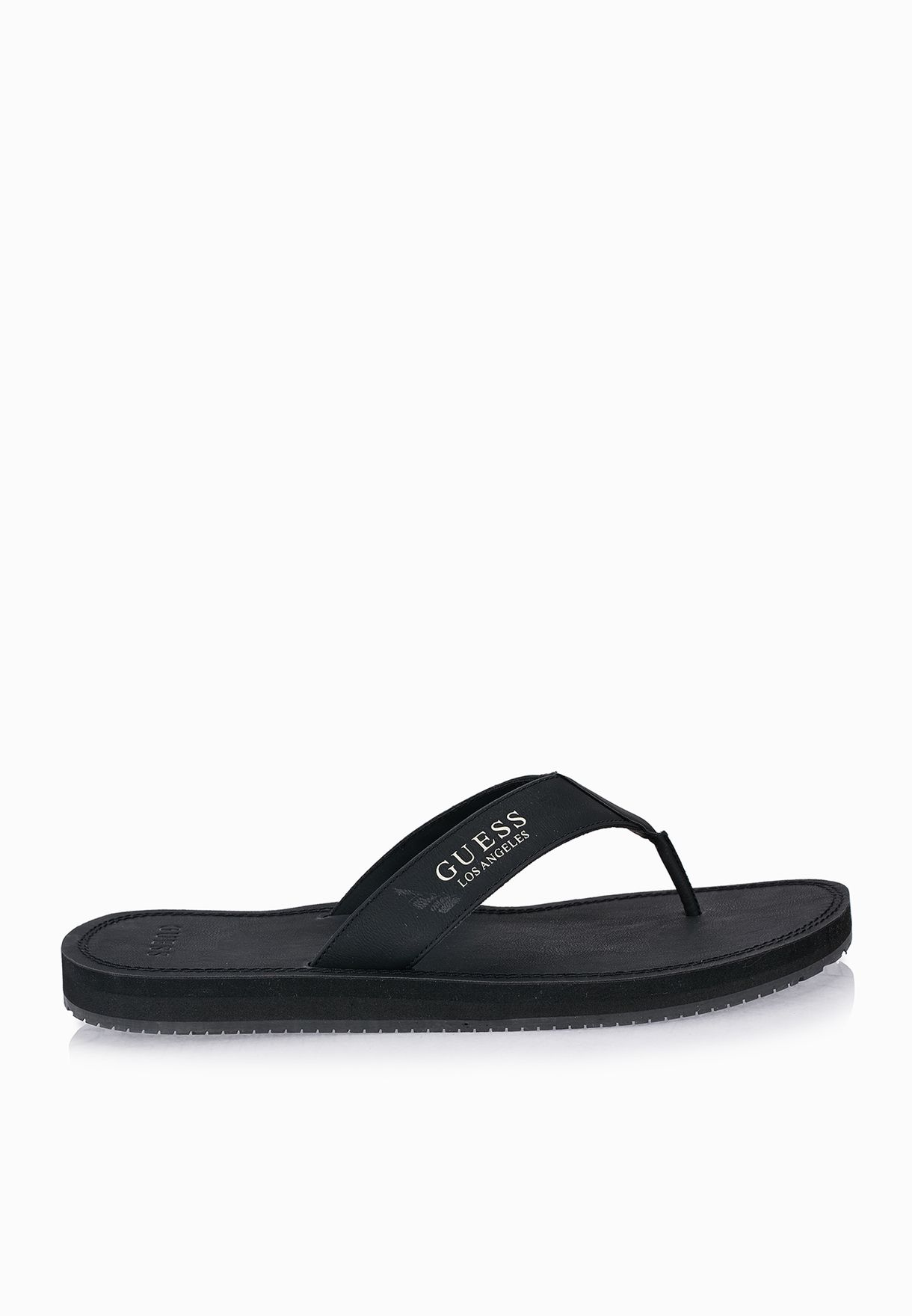 71052ae6275 Shop Guess black Jeddo Flip Flops GMJEDDO for Men in UAE - GU094SH07FCA