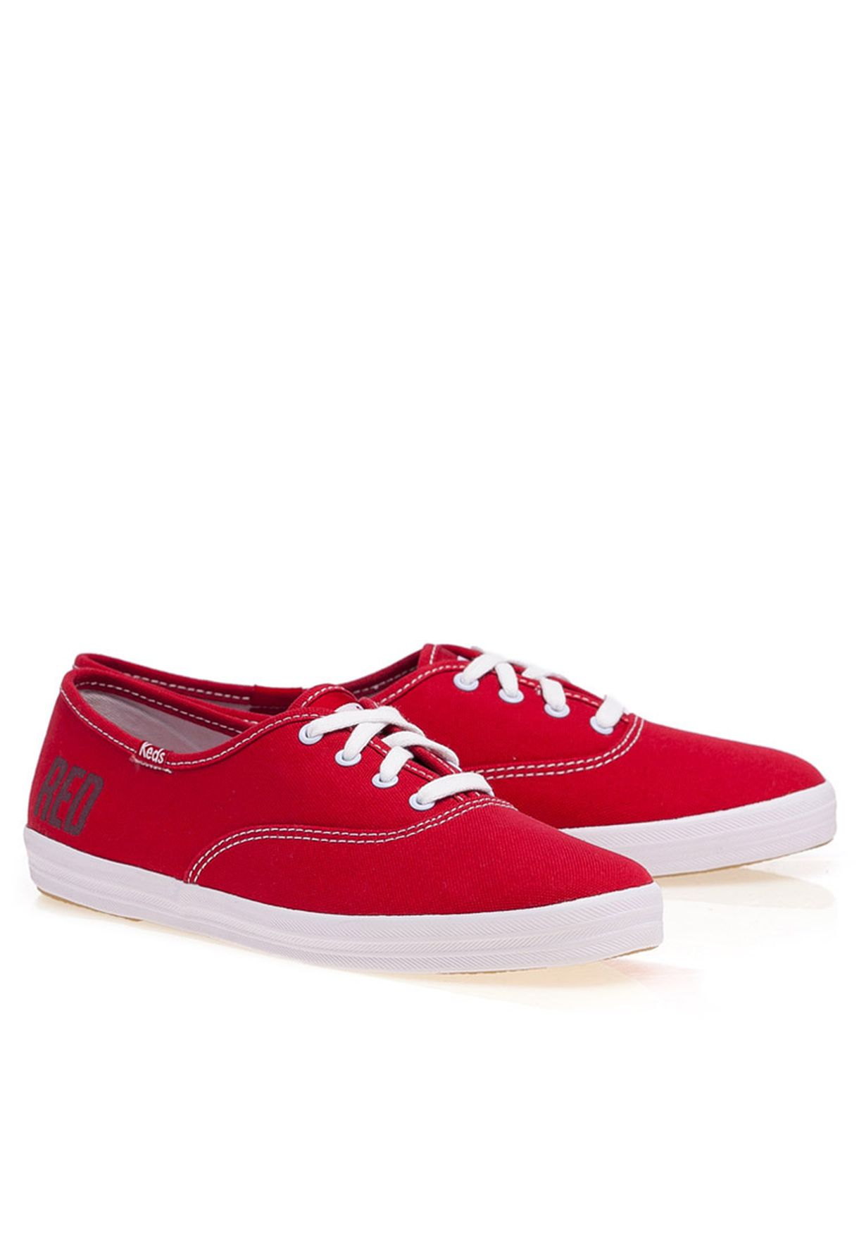 540a5b431 Shop Keds red TS Champion Red Sneaker for Women in Qatar - KE731SH07ZJG