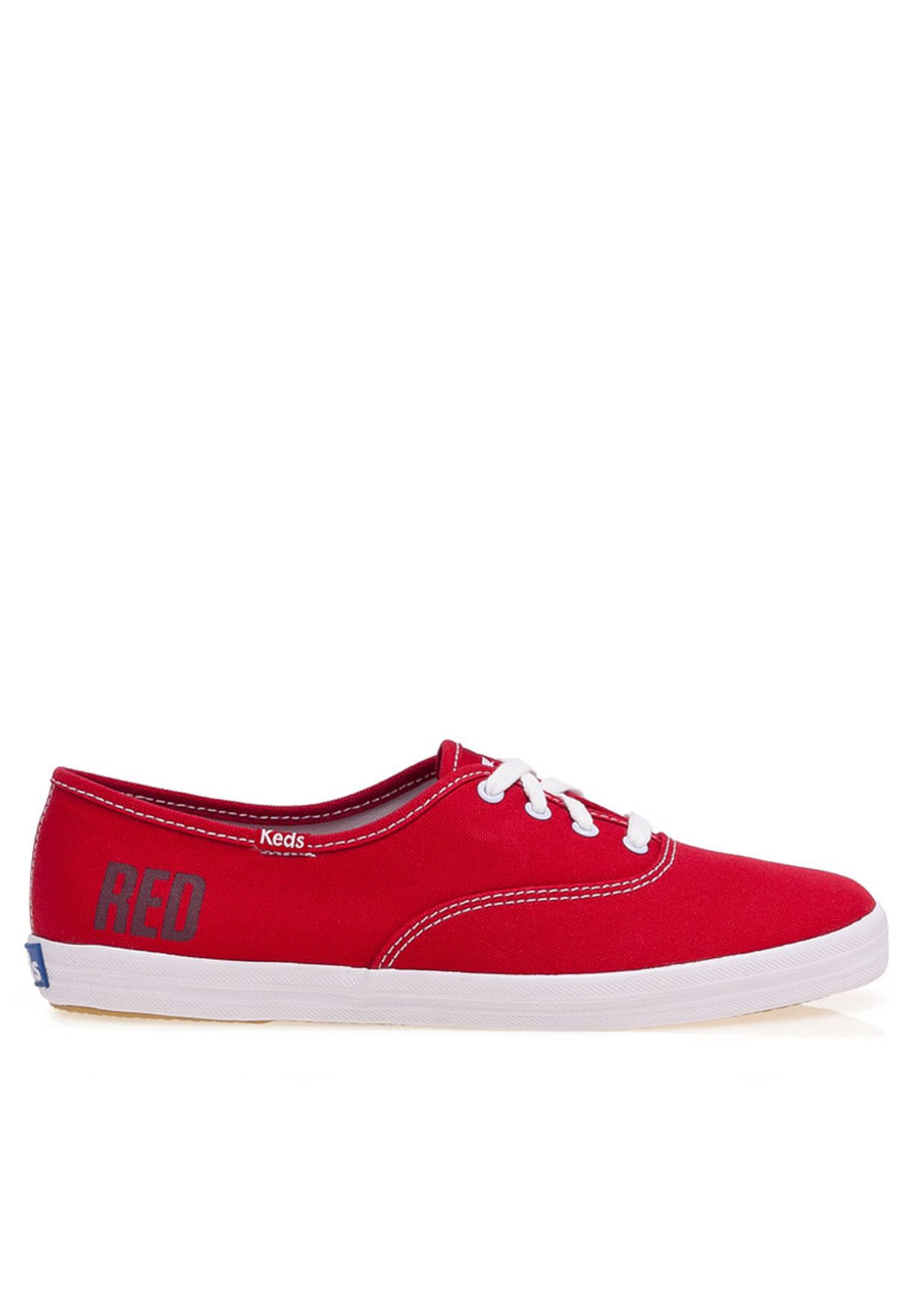 b754bf1ab6e Shop Keds red TS Champion Red Sneaker for Women in Qatar - KE731SH07ZJG