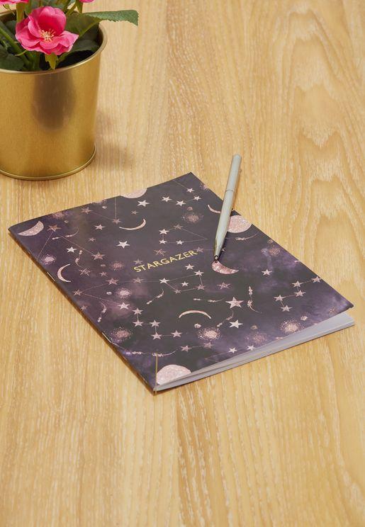 Stargazer Constellations A5 Notebook