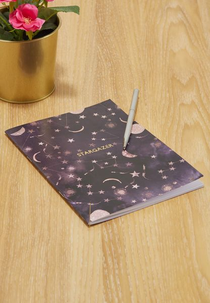 Stargazer Constellations A5 Notebook