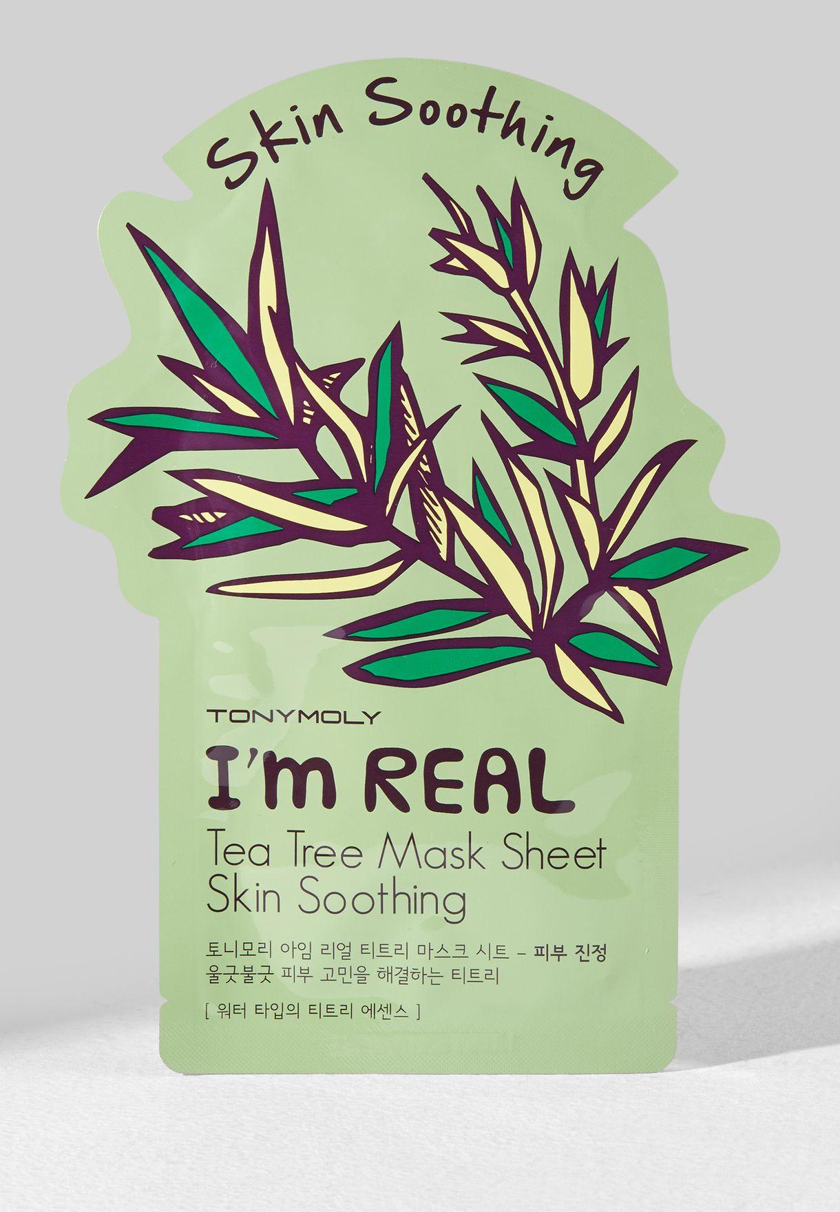 I Am Real Tea Tree Mask Sheet