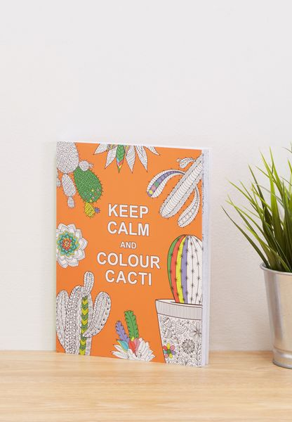 "كتاب ""Keep Calm and Colour """