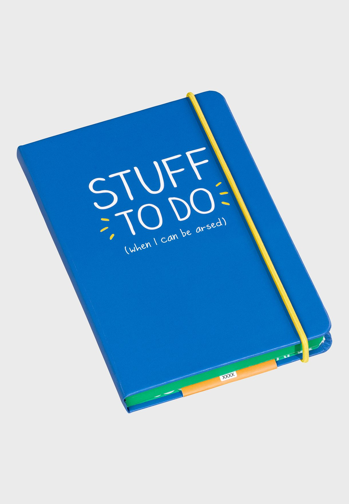 A6 To Do Stuff Notebook