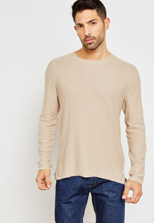 Nic Knitted Crew Neck T-Shirt