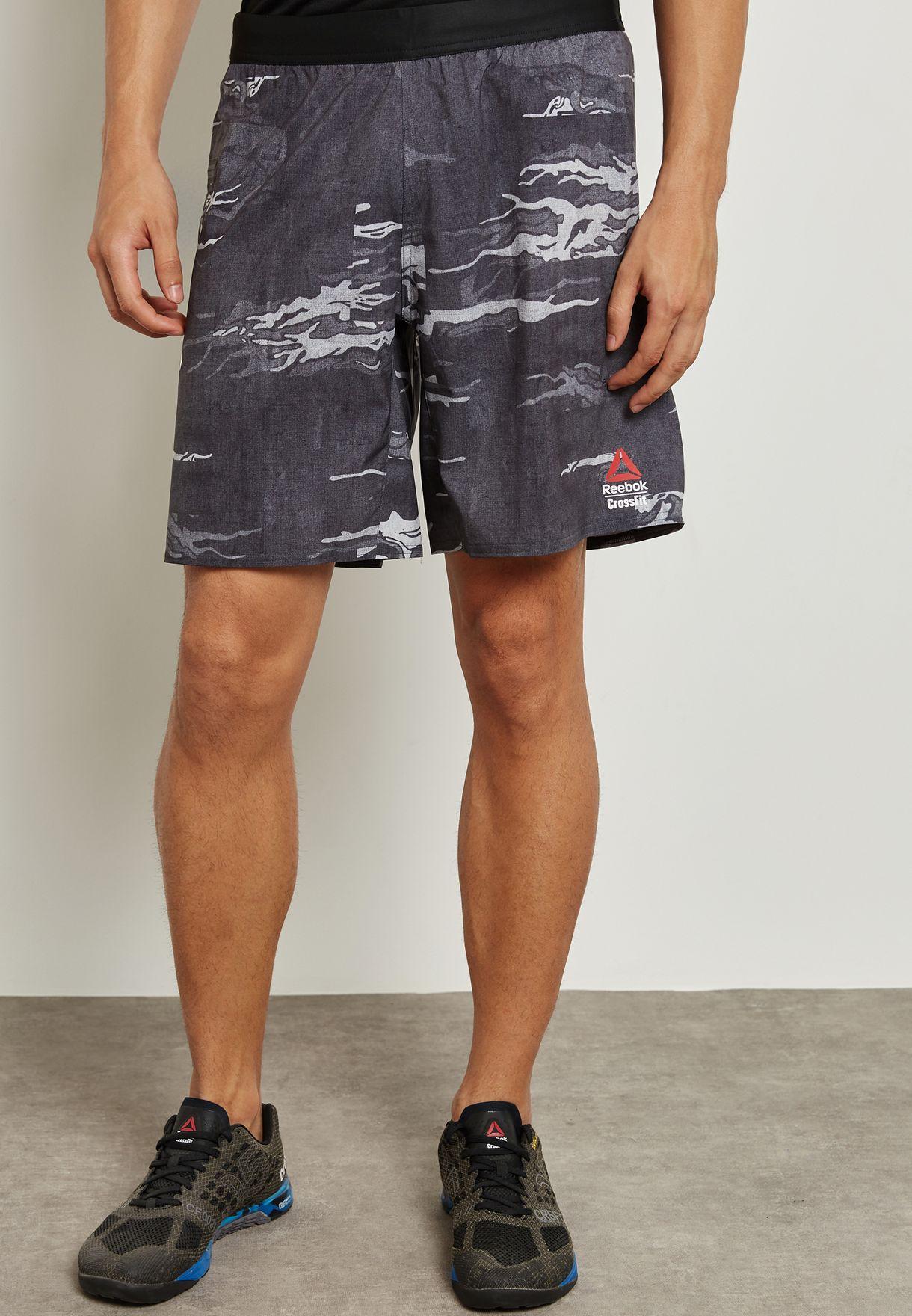 fc6f29593fe7 Shop Reebok prints CrossFit Speed Board Shorts BR4636 for Men in UAE ...