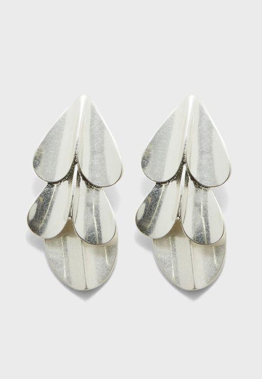 Jersey Drop Earrings
