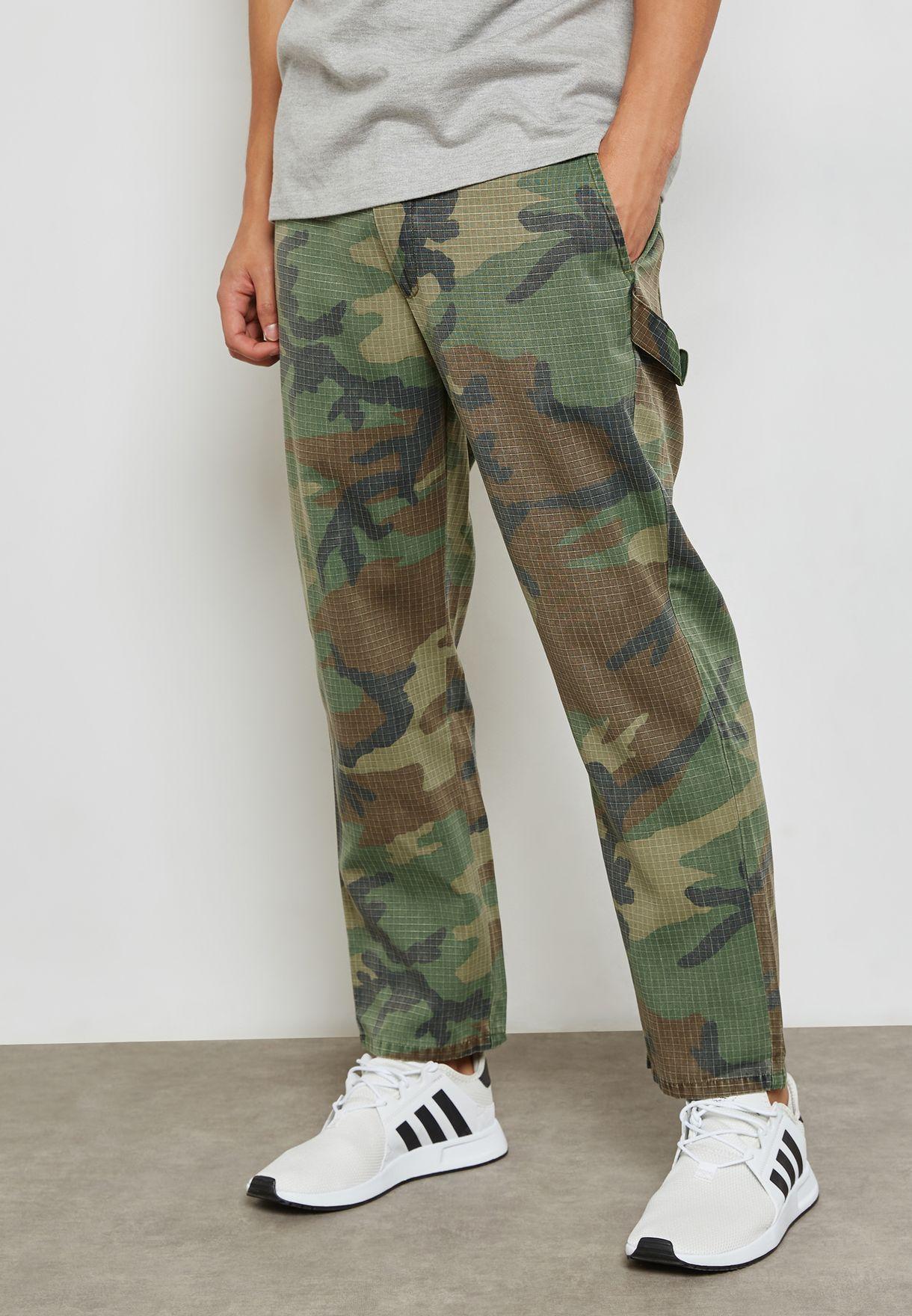 Camo Print Trousers