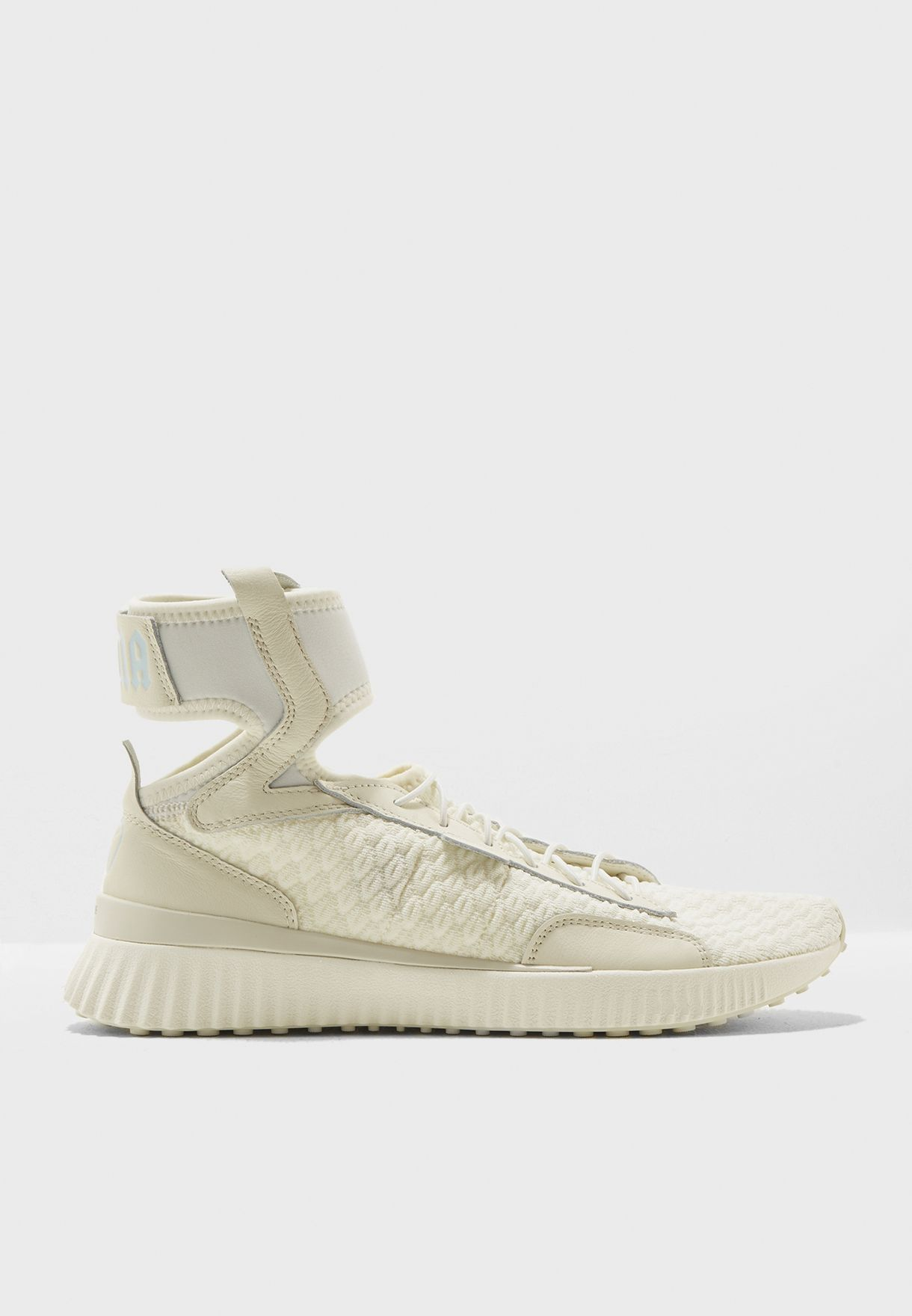 Shop PUMA x Fenty white Fenty Trainer Mid Geo 19123101 for Women in Saudi -  PU552SH07DUA 06100fc52