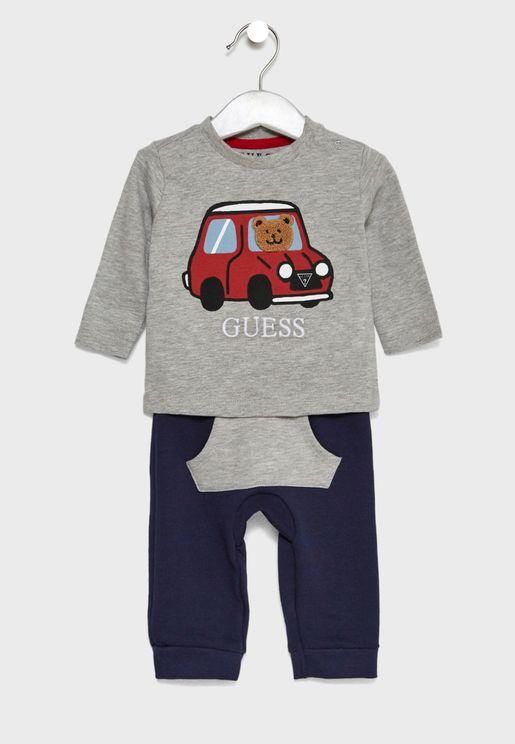 Infant T-Shirt + Sweatpants Set