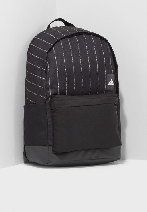 Classic Striped Backpack
