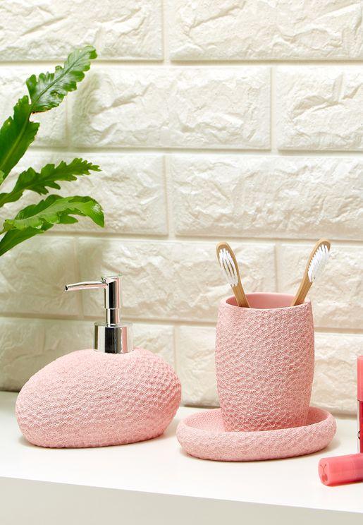 طقم حمام من ثلاث قطع