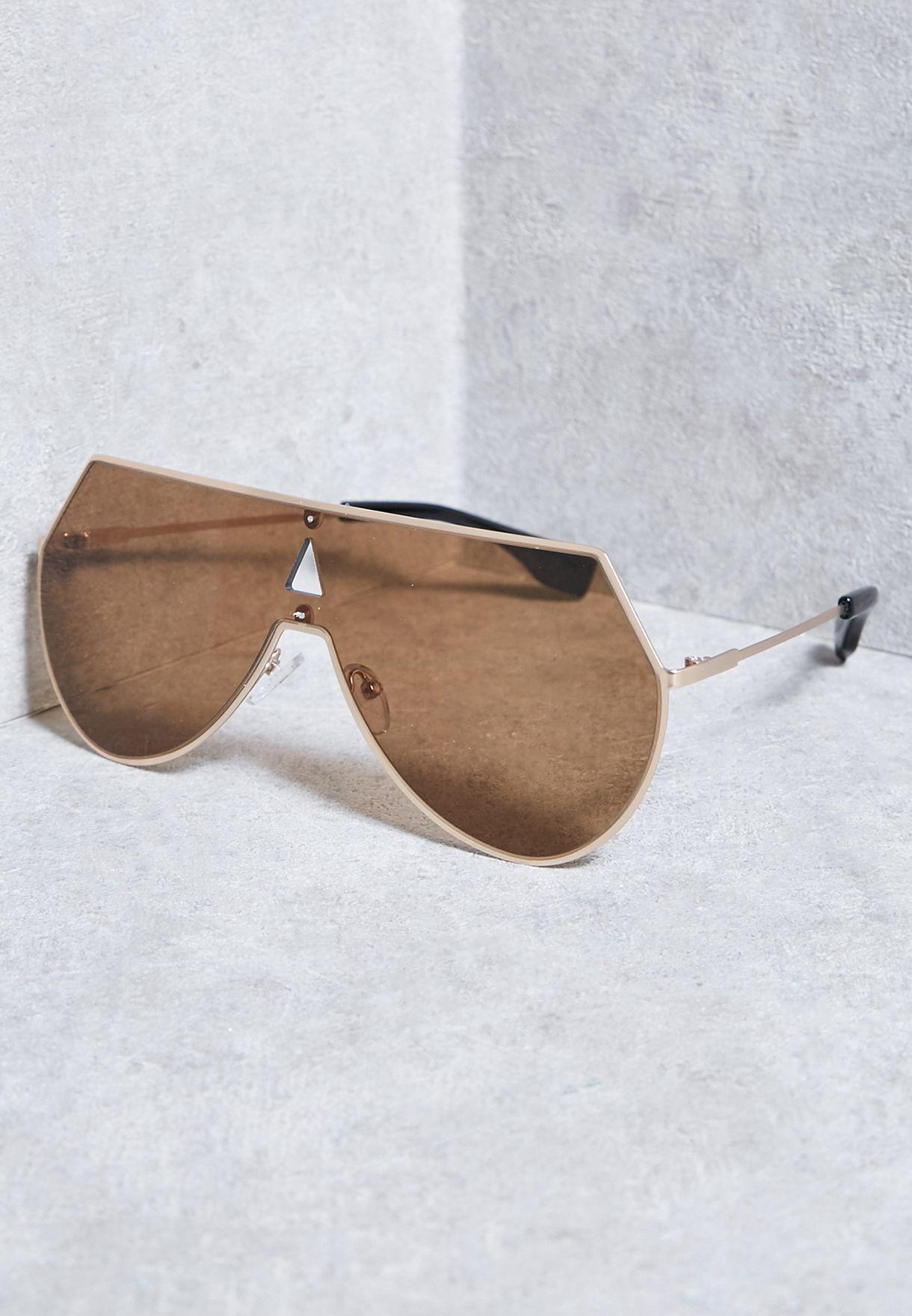 facc1b150 تسوق نظارة شمسية بدون إطار ماركة جينجر لون ذهبي S170303 في قطر ...