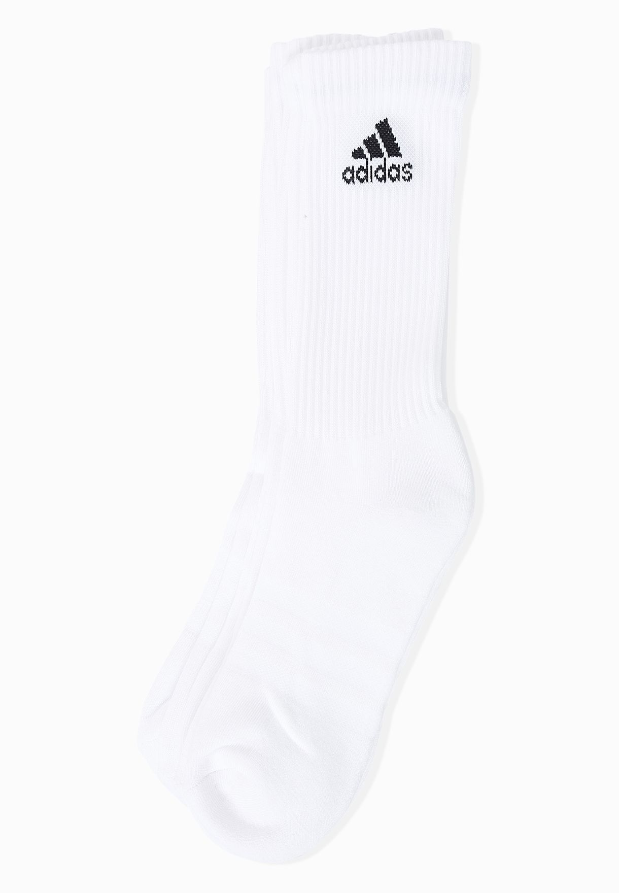 Colonial acción Estereotipo  Buy adidas white 3 Pack Socks for Women in MENA, Worldwide | AA2297