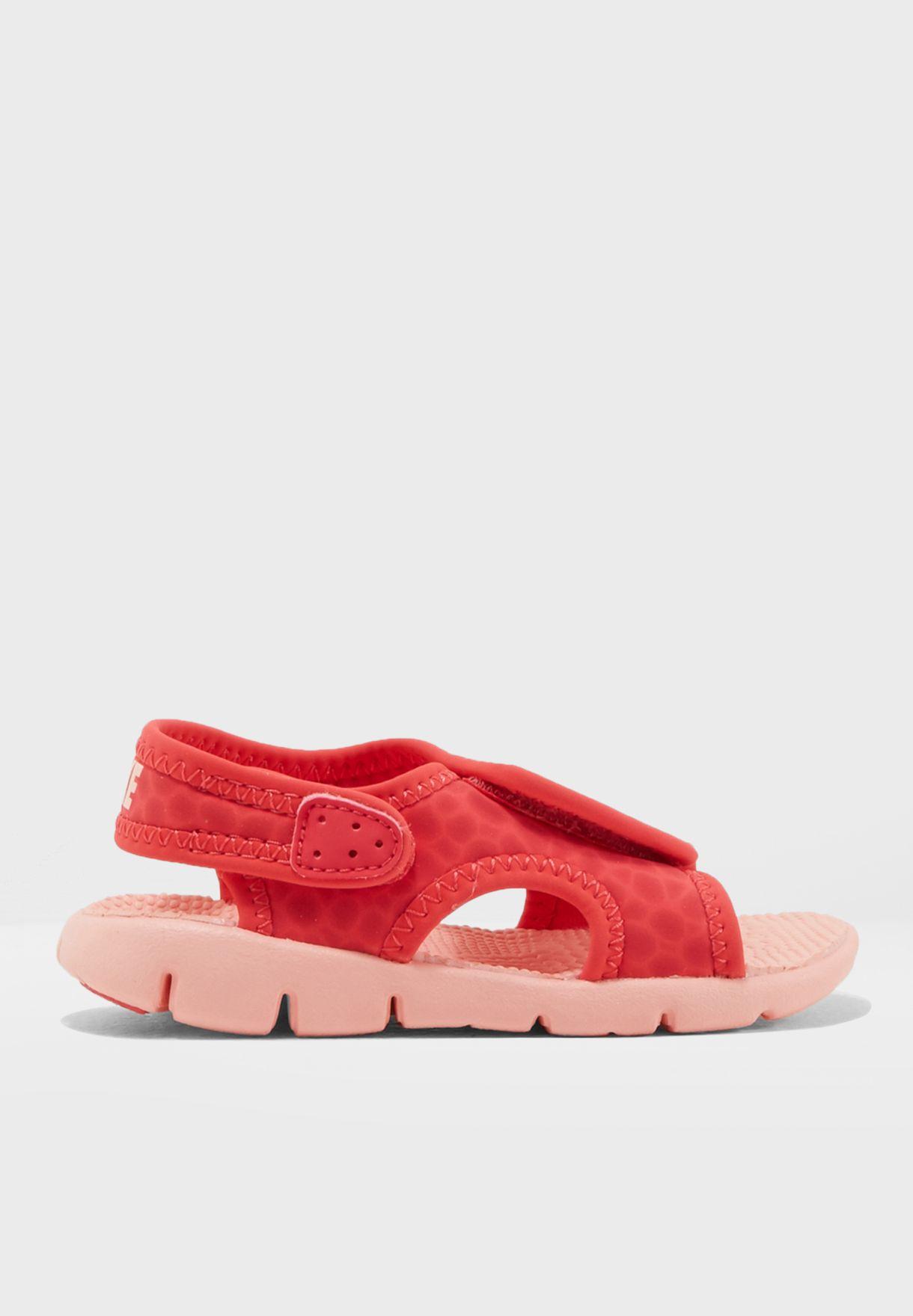9b9fdc91541 Shop Nike prints Sunray Adjust 4 Infant 386521-608 for Kids in Kuwait -  NI727SH07PTO
