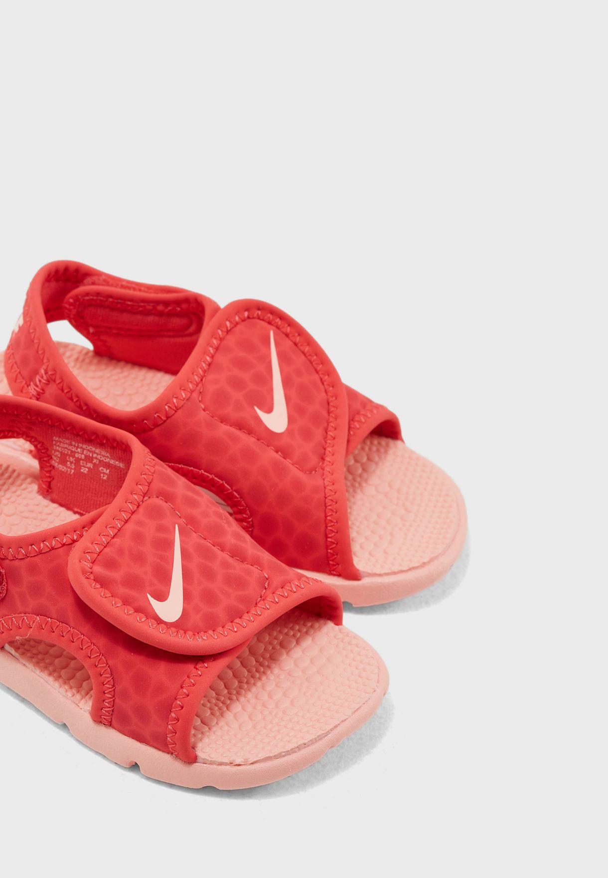 986f0ad1681 Shop Nike prints Sunray Adjust 4 Infant 386521-608 for Kids in Kuwait ...