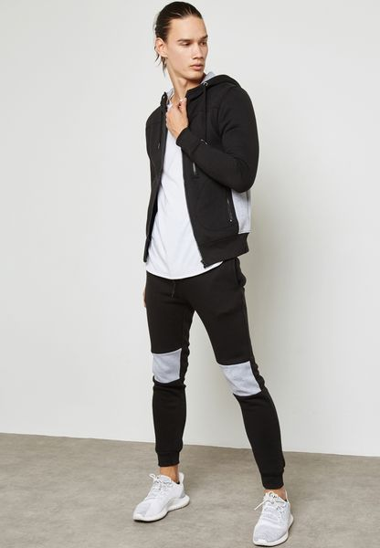 Skinny Fit Hoodied Tracksuit