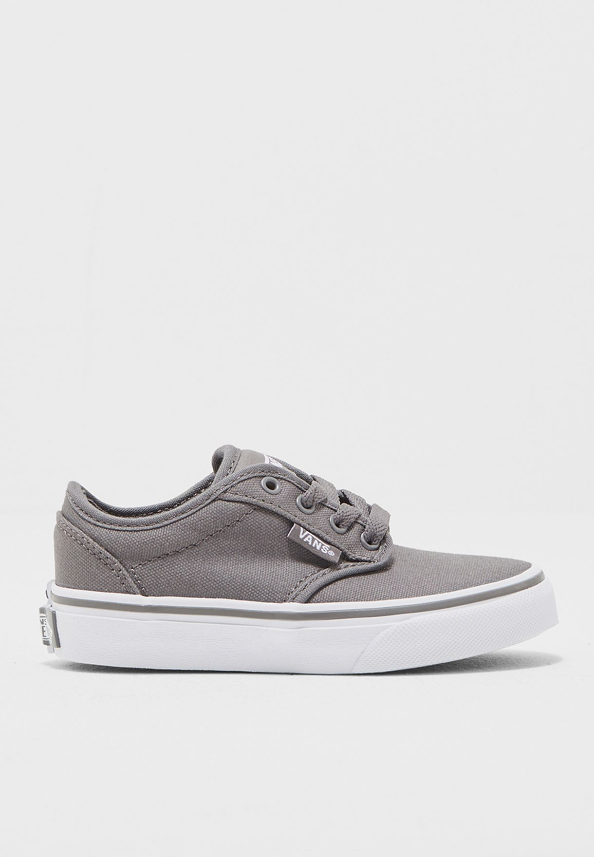 e7a2662fa12 Shop Vans grey Atwood Sneakers Kids ZNR4WV for Kids in Kuwait ...