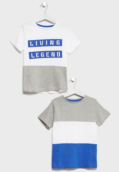 Little 2 Pack T-Shirts