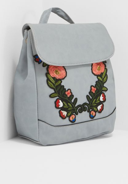 Embroidery Backpack