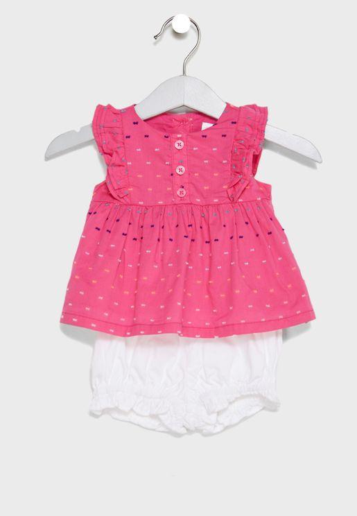 Infant Dress + Knicker Set