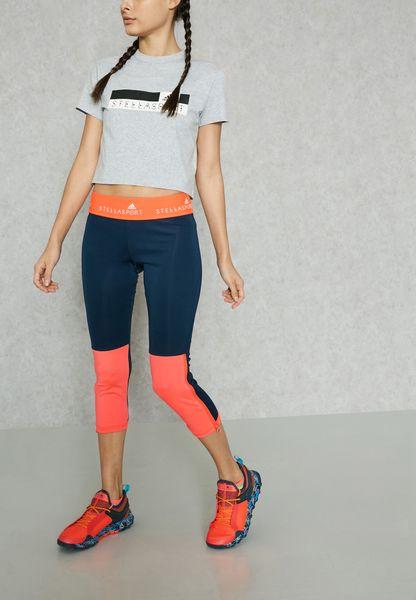Adidas Stellasport Leggings Con Blocco Di Colore lAwZT6mak