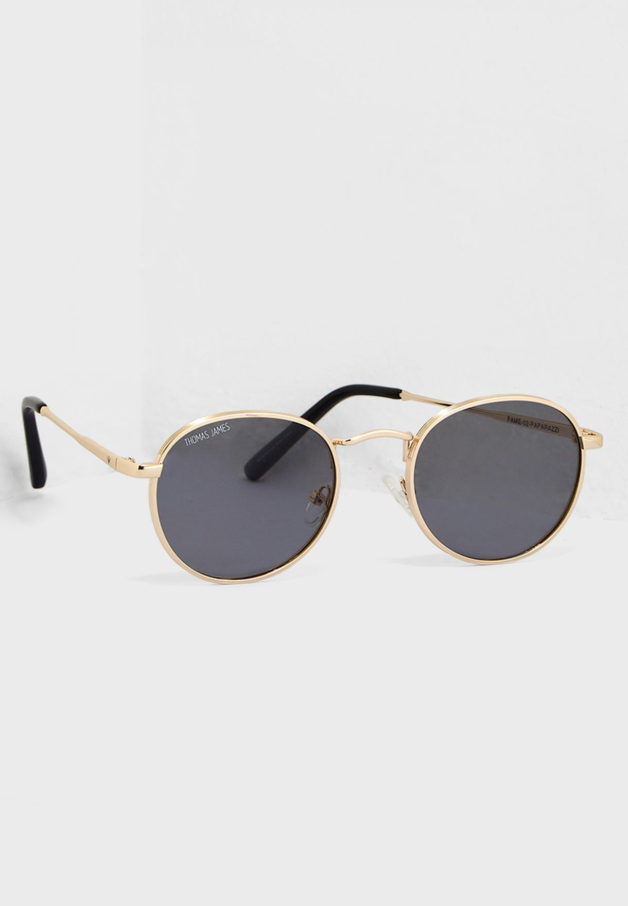 1a8416f04848 Shop Thomas James Los Angeles gold Fame Sunglasses FAME for Women in ...