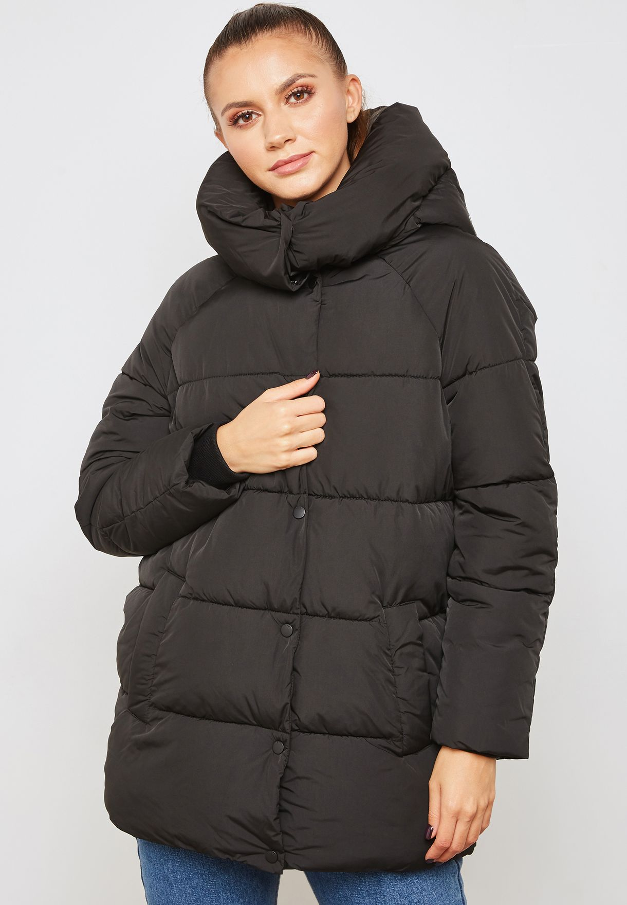 8d27f05d300ceb Shop Only black Quilted Jacket 15159392 for Women in UAE - ON544AT07EGI