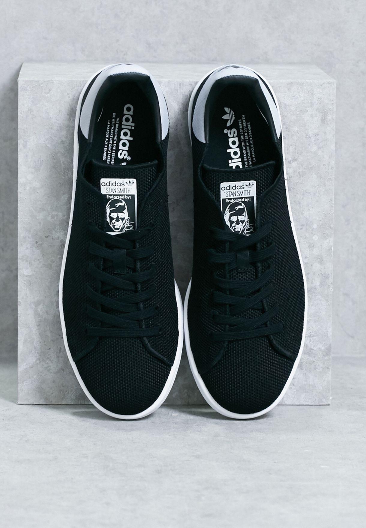 Buy adidas Originals black Stan Smith