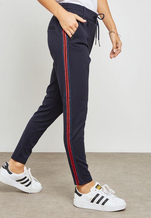 Long Length Tie Waist Pants