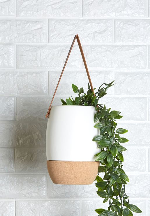 Craft Plant Pot With Handle