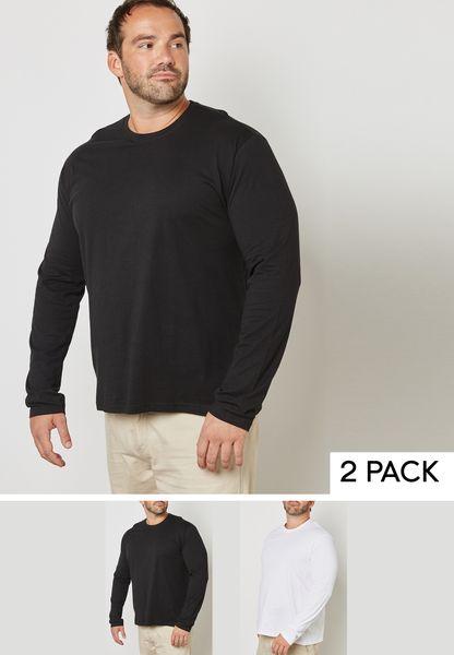 2 Pack Long Sleeve T-Shirts