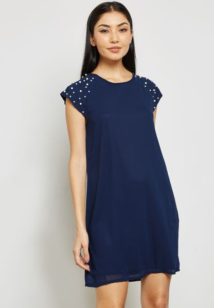 Pearl Embellished Dress