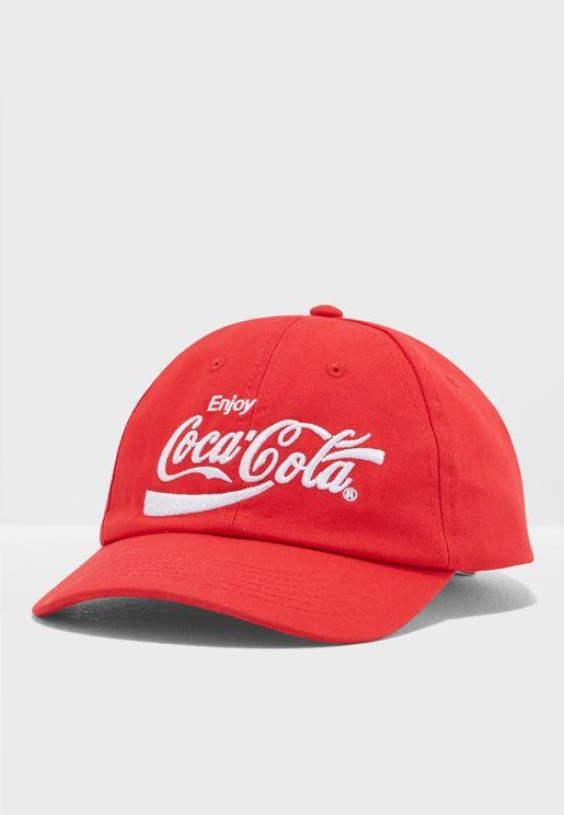 Coca-Cola Graphic Dad Cap