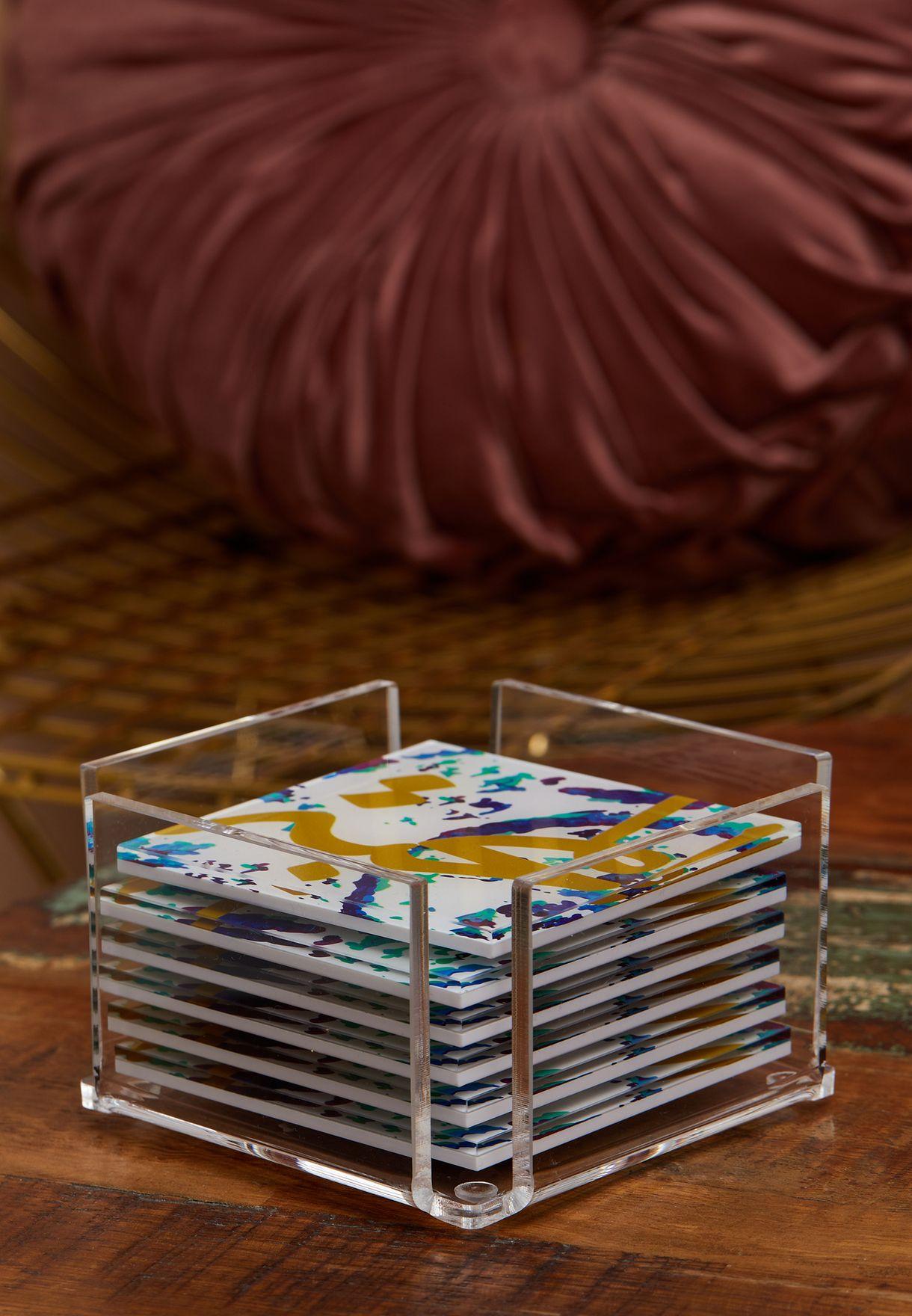 6 Pack Fairuz Coasters