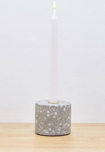 Small Terrazzo Candle Holder